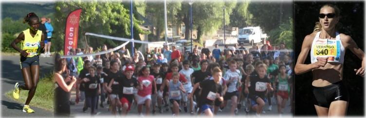 La course au féminin, et épreuves jeunes