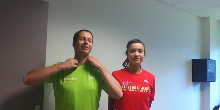 Les tee-shirts coureurs et bénévoles sont arrivés !