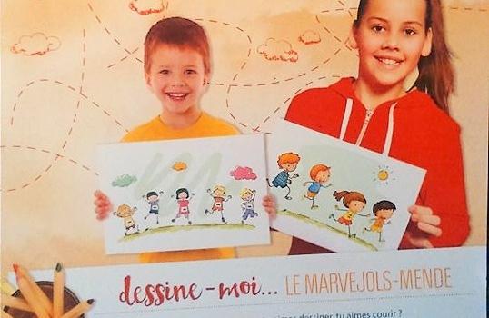 Remise des prix du concours de dessins pour enfants